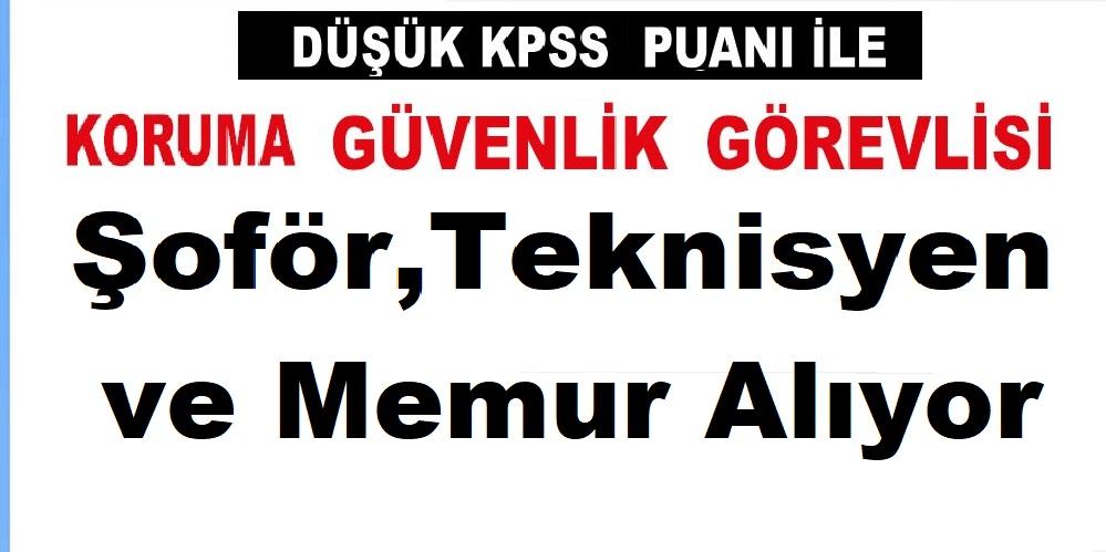 Türkiye Bilimsel ve Teknolojik Araştırma Kurumu, Şoför,Koruma Memuru ,Teknisyen ve Memur Alıyor