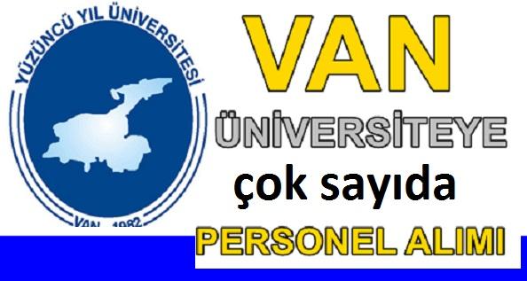 Van Üniversitesi Sağlık Teknikeri, Hemşire ve Fizyoterapist İş ilanı