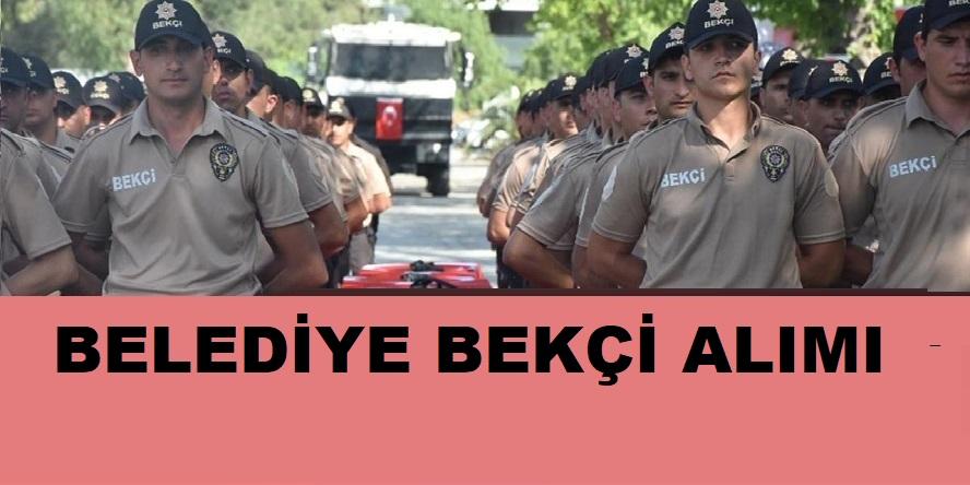 Burdur Belediyesi Bekçi Alıyor