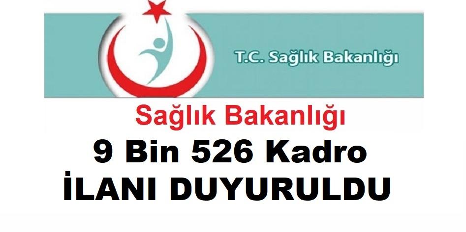 Sağlık Bakanlığı 9 Bin 526 Kadro İçin İller Arası Atama Duyurusu
