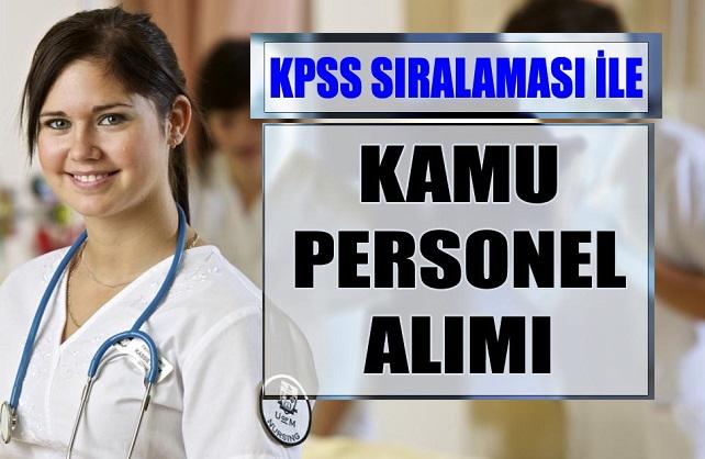 KPSS ile En Az Lise Mezunu 5 Kamu Personeli Alımı