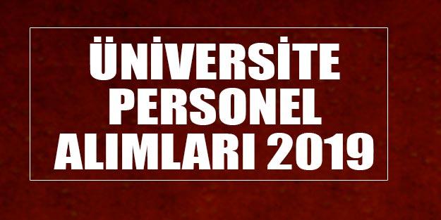 Ege, Aydın ,Giresun ,Gaziantep Üniversiteleri 500 Personel alımı