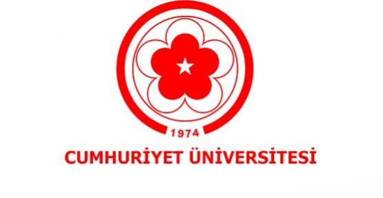 Cumhuriyet Üniversitesi Öğretim Elemanı Alım İlanı 2019