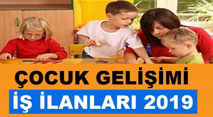Çocuk Gelişimi Ve Eğitimi ÖğretmeniAlımı iş ilanları 2019