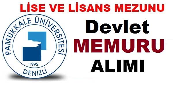 Pamukkale Üniversitesi 254 Sağlık Personeli Alımı iş ilanı yayınladı
