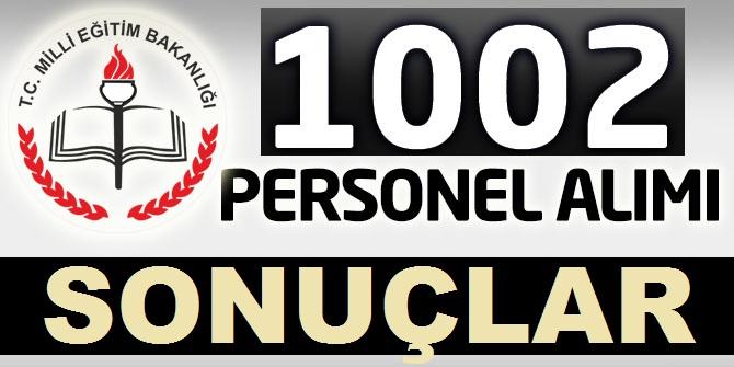 MEB 1002 Personel Alımı Sonuçları Tam liste ile Kamudankariyer.com da
