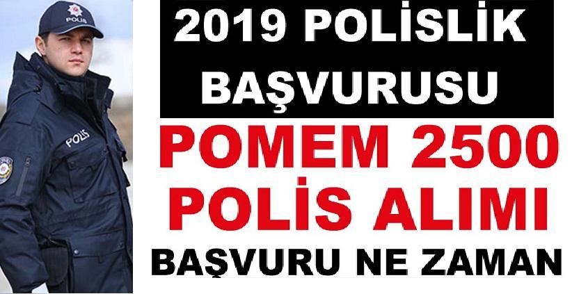 Önümüzdeki Ay 18 bin Polis ve PÖH alımı yapılacak