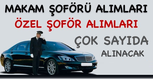 Anadolubank Güvenlik Görevlisi Alım İlanı,HSBC Bank ve Türkiye Finans Katılım Bankası Makam Şoforü Alım İlanı