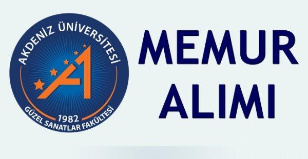 Akdeniz Üniversitesi 88 sağlık personeli alımı yapacak.