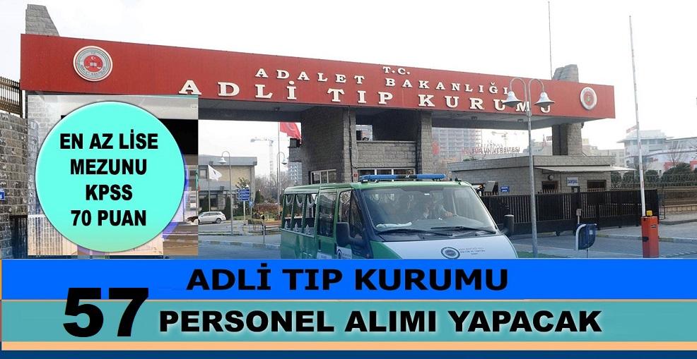 70 KPSS puanına sahip olan adaylar arasından kamuya 57 personel alımı