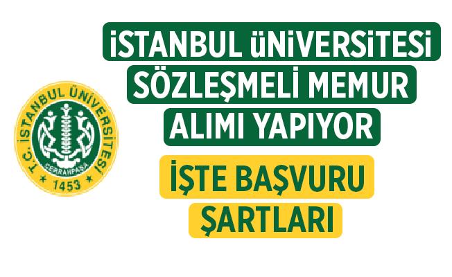 İstanbul Üniversitesi 25 Hemşire alımı için yayınlanan ilan