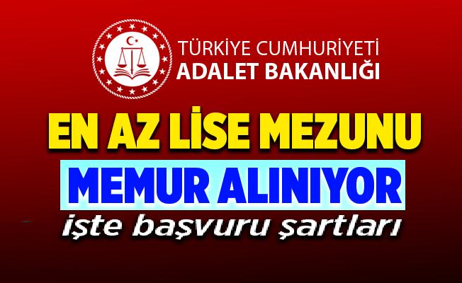 Adalet Bakanlığı bünyesinde bulunan Adli Tıp Kurumu 57 Devlet Memuru Alımı