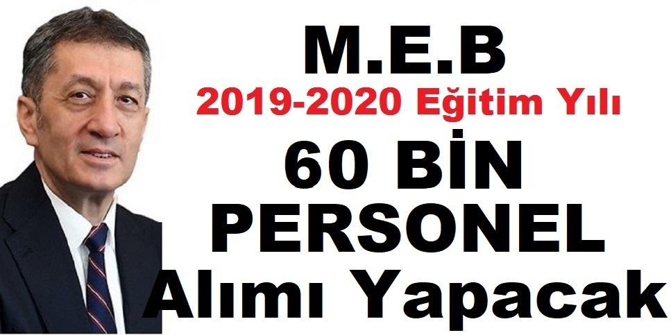 MEB 60 Bin Kamu Personeli Alımı - işkur iş ilanları 2020