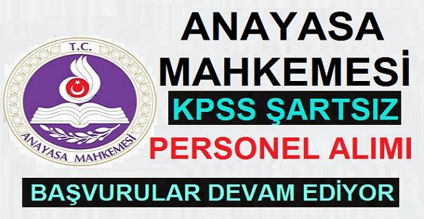 Anasaya Mahkemesi KPSS'Lİ ve KPSS'SİZ Sözleşmeli Personel Alımı 2020,