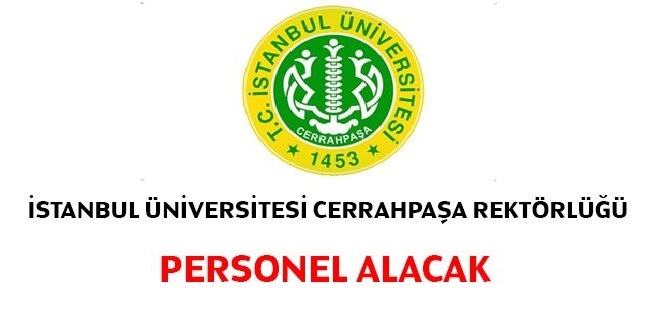 İstanbul Cerrahpaşa Üniversitesi 2020 Kamu Personeli Alımı
