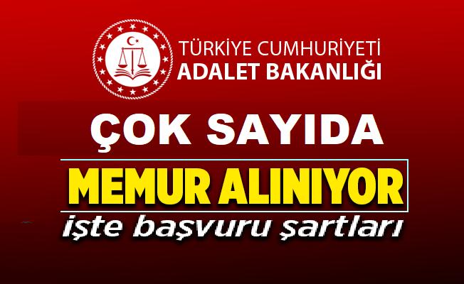 Adalet Bakanlığı Mühendis Kamu Personeli Memuru Alım ilanı