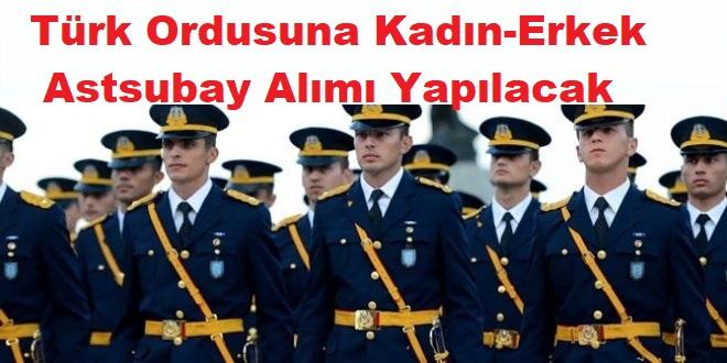 Mayıs 2020 Türk Ordusuna Astsubay Alımı Askeri Personel Alımları