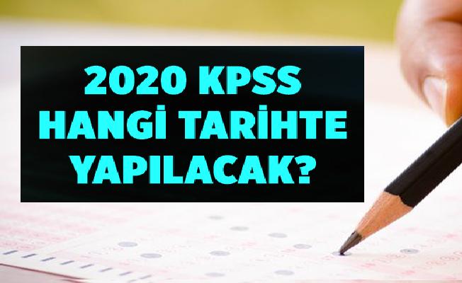 2020 KPSS Ne Zaman?