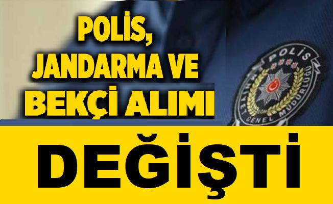 POMEM, PMYO, PAEM, Jandarma Bekçi Alım Şartları Değişti!