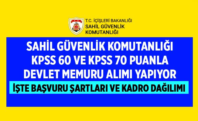 KPSS 60 ve KPSS 70 Puanla Devlet Memuru Alıyor