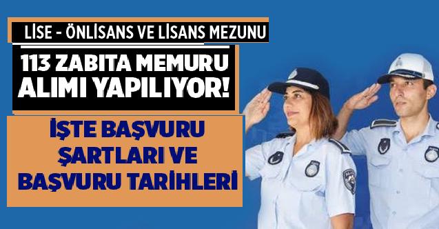 İstanbul Büyükşehir Belediyesi Çok Sayıda Zabıta Memuru Alacaktır