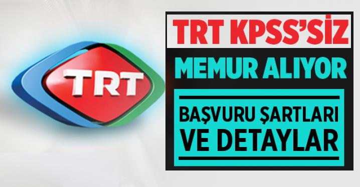 TRT 2020 Yılı Personel iş ilanları 2020