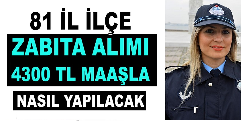 Sultangazi Belediyesi 15 zabıta memuru Alımı Yapıyor işte ilan metinleri