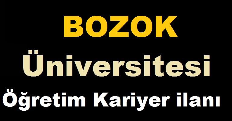 Yozgat Bozok Üniversitesi 8 Sözleşmeli Kariyer Personel Alacak