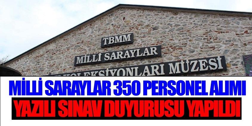 350 Devlet Memuru Alımı Yazılı Sınav Duyurusu