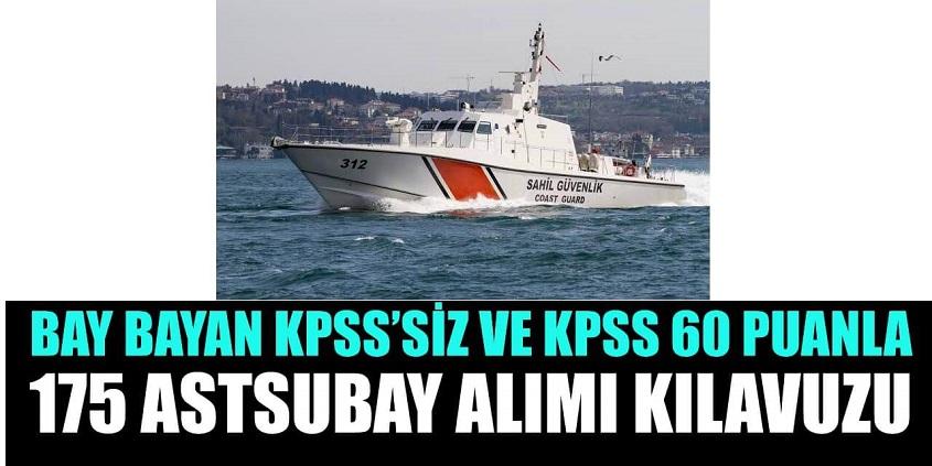 KPSS 60 puan ile 175 astsubay alımı başvuruları