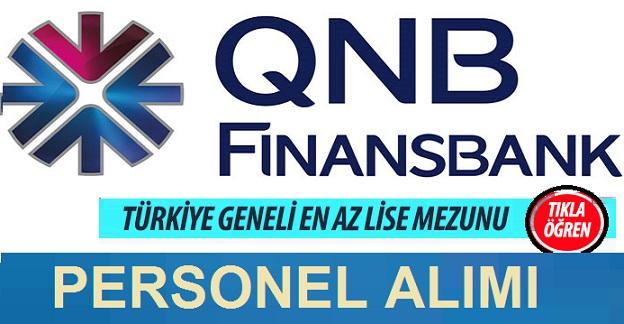 QNB Finansbank Personel Alımı İlanları 2020