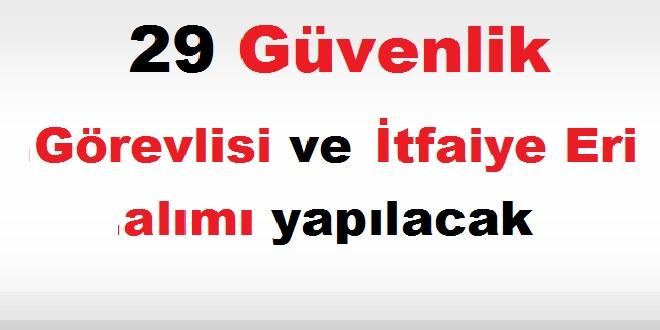 Konya Belediyesi Kariyer 29 Güvenlik Görevlisi ve İtfaiye Eri alımı