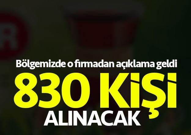 Trabzon'da 830 kişi işe alınacak