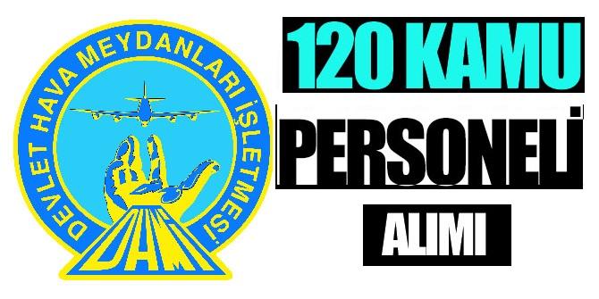 Devlet Hava Meydanları 120 Stajer Memur alıyor