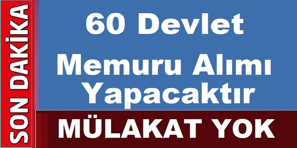 İstanbul Fatih Belediyesi 60 Devlet Memuru Alımı Yapıyor