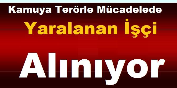 Türkiye Sanayi ve Sevk İdaresi Terörle Mücadelede Yaralanan İşçi kariyer ilan