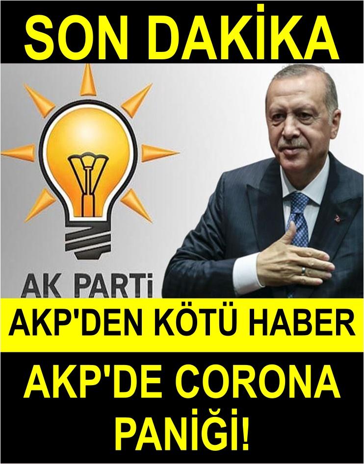 AK Parti'de CORONAVİRÜS PANİĞİ