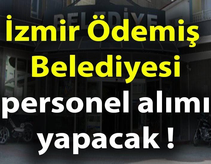İzmir Ödemiş Belediyesi personel alım ilanı yayınladı.İŞKUR üzerinden