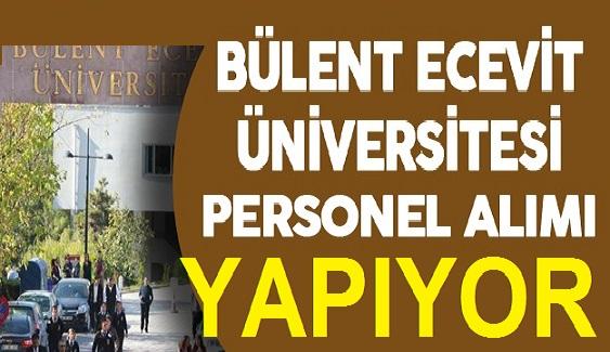 Bülent Ecevit Üniversitesi 118 personel alacak