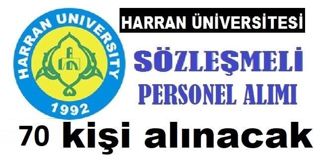Harran Üniversitesi Torpilsiz 70 Güvenlik , Temizlikçi ve Klinik Görevlisi Alıyor