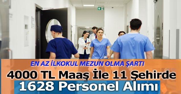 Devlet Hastanelerine Yeni 1628 Personel ve İşçi Alımı Başvuruları Başladı