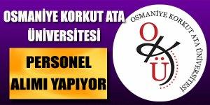 Osmaniye Korkut Ata Üniversitesi 2 Öğretim üyesi alımı gerçekleştireceğini duyurdu.