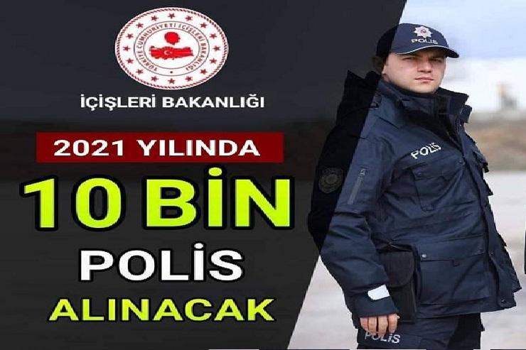 2021 polis alımları hakkında son dakika açıklaması geldi.