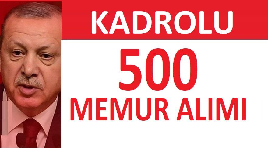 Maliye Bakanlığı 500 adet Memur Alımı YAPACAKTIR