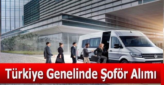 İŞKUR üzerinden Türkiye geneli şoför alımı ilanı yayınlandı