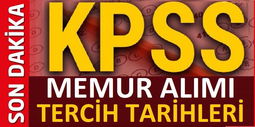 KPSS 2020 ile Memur Alımı Tercih tarihleri Belli oldu
