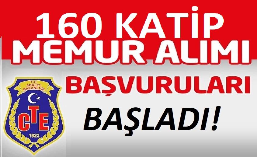 adalet bakanligi ceza ve tevkifevleri genel mudurlugu 160 ceza infaz kurumu katibi alacak