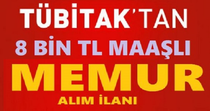 Tübitak 20 Mühendis Alacak işte iş ilanı