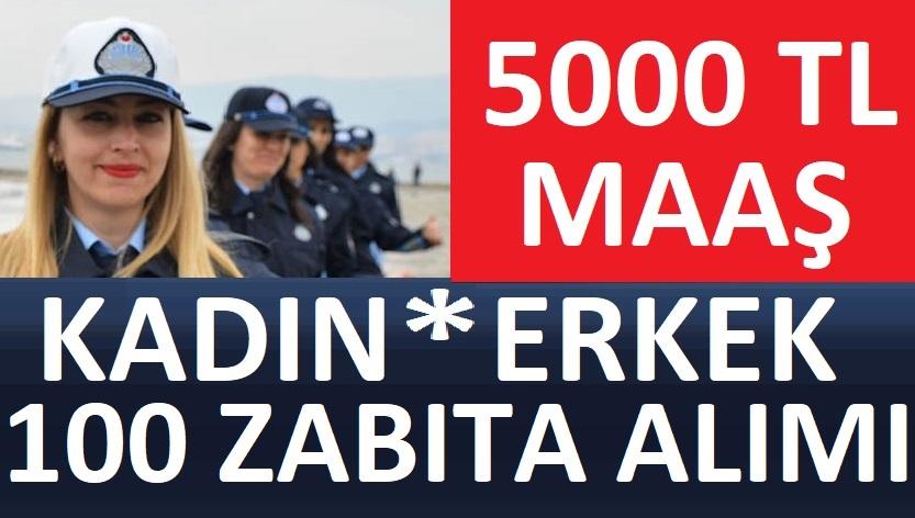 İstanbul Büyükşehir Belediye Başkanlığı 100 adet zabıta memuru alımı yapılacaktır.