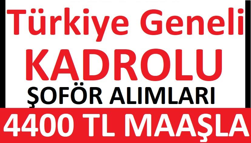 Bursa Nilüfer Belediyesi Nilbel şirketi 50 Kadrolu Şoför Alacaktır